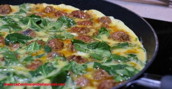 Frittata - Déjeuner Santé 3